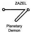 Zazel Planetary Demon of saturn