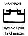 Arathron Olympic Spirit of Cassiel and Saturn